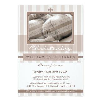 PHOTO CHRISTENING INVITES :: stylishly 1P