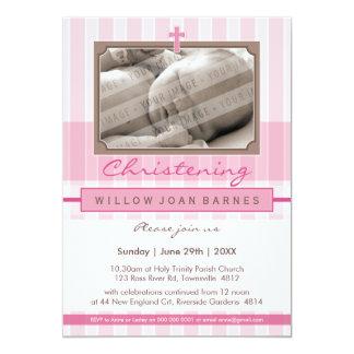 PHOTO CHRISTENING INVITES :: stylishly 2P