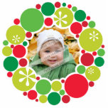 PHOTO CHRISTMAS DECORATION :: bauble wreath 2 Statuette