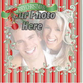 Photo Christmas Tree Ornament Cut Out