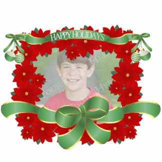 Photo Christmas Tree Ornament Photo Cut Out