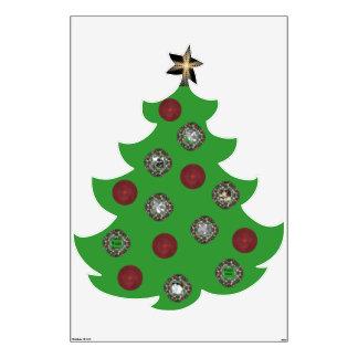 Photo Christmas Tree Wall Decal