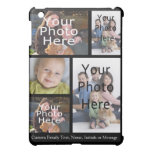Photo Collage , 5 Custom Personalized Cover For The iPad Mini