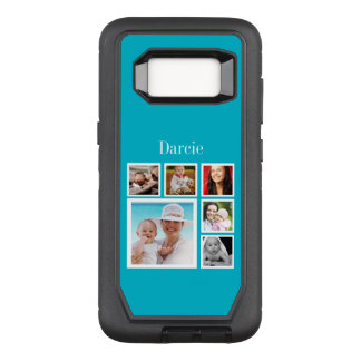 Photo Collage Add Your Own Photos OtterBox Defender Samsung Galaxy S8 Case