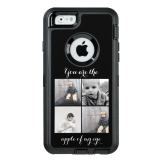 Photo Collage Apple of my eye OtterBox Defender iPhone Case