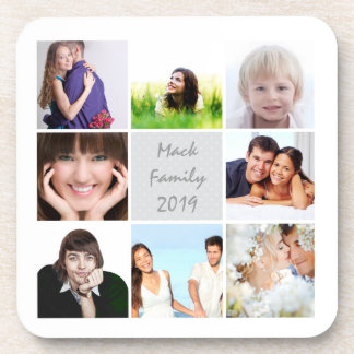 Photo Collage Coaster