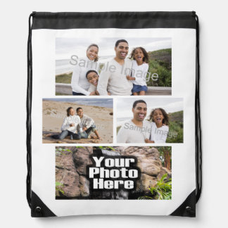 Photo Collage Custom Digital Picture Backpack