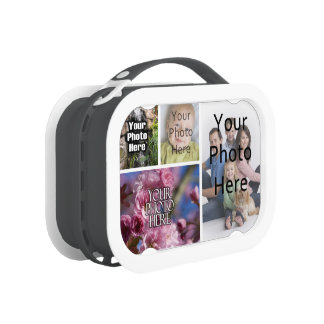 Photo Collage Custom Digital Picture Lunch Boxes