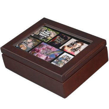 Photo Collage Custom Digital Picture Memory Box