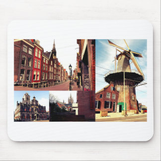 Photo collage Delft 1 Mouse Pad
