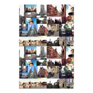 Photo collage Delft 6 Stationery