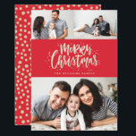 """Photo Collage Family Holiday Photo Card<br><div class=""""desc"""">Highlight your favorite family photo on your holiday cards this season!  Whether you celebrate Christmas,  Hanukkah or simply want to send our a New Year greeting to your friends and family,  Blush Paper Co. has the perfect holiday card for you.</div>"""