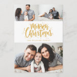 "Photo Collage Family Holiday Photo Card<br><div class=""desc"">Highlight your favorite family photo on your holiday cards this season!  Whether you celebrate Christmas,  Hanukkah or simply want to send our a New Year greeting to your friends and family,  Blush Paper Co. has the perfect holiday card for you.</div>"
