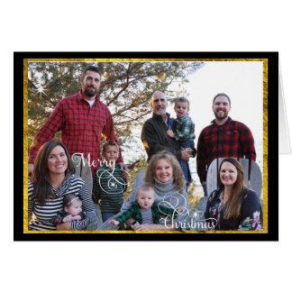 Photo Collage Family Photos Card