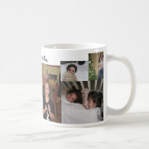 Photo Collage Father's Day Mug