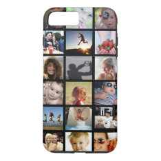 Photo Collage Iphone 7 Plus Case (-mate) at Zazzle