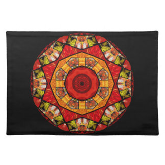 Photo Collage Kaleidoscope Cloth Placemat