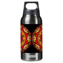 Photo Collage Kaleidoscope Insulated Water Bottle