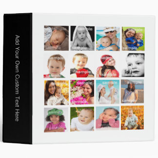 Photo Collage Make Your Own DIY Binder