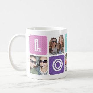 Photo Collage Multicolor Classic White Coffee Mug