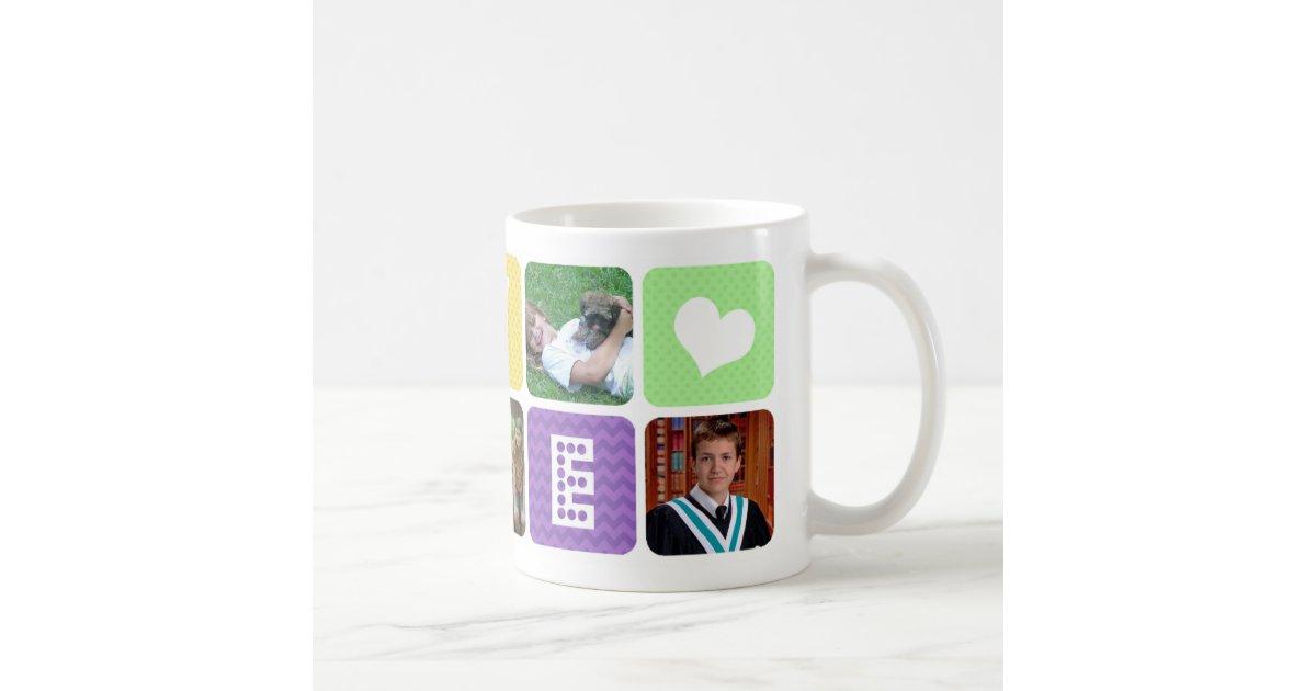 Photo Collage Multicolor Coffee Mug Zazzle