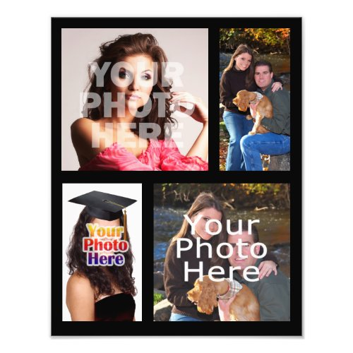 Photo Collage Print Four Pictures