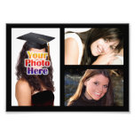 Photo Collage Print, Three Pictures