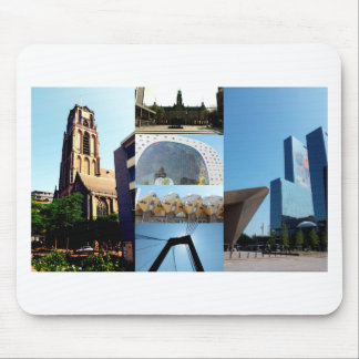 Photo collage Rotterdam 1 Mouse Pad