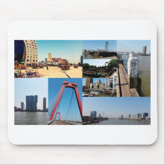 Photo collage Rotterdam 2 Mouse Pad