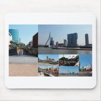 Photo collage Rotterdam 3 Mouse Pad