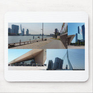 Photo collage Rotterdam 4 Mouse Pad
