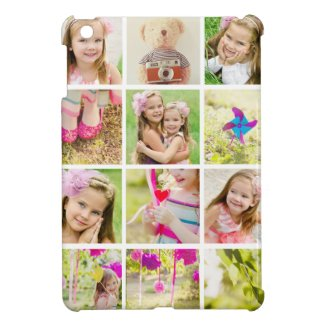 Photo Collage Template Personalized Cover For The iPad Mini Other Designs Available