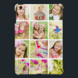 """Photo Collage Template Personalized Cover For The iPad Mini<br><div class=""""desc"""">Turn this case into a lovely keepsake. It has slots for 12 of your favorite photos.</div>"""