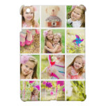 Photo Collage Template Personalized iPad Mini Cases