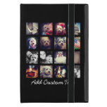 Photo Collage with Black Background iPad Mini Covers