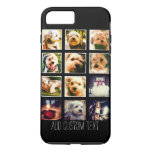 Photo Collage With Black Background Iphone 7 Plus Case at Zazzle