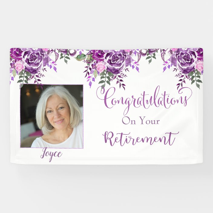 Congratulations on your Retirement Banner