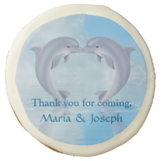 Photo Cookie Favor Dolphin Lovers Gift