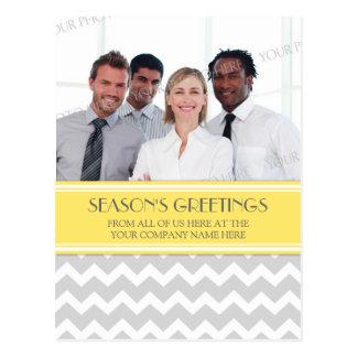 Photo Corporate Season s Greetings Postcards Grey