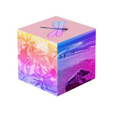 Beach Themed Photo Cube for kids