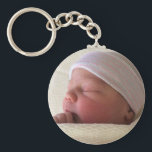 """Photo Custom Personalized Key Chain<br><div class=""""desc"""">Put your favorite person or other photo on this great key chain! Easy to do, just center your photo by using the art view button and staying inside the red dotted lines. You can even add text! A fun, personal gift for your friends and family, too. Moods of Maggie thanks...</div>"""
