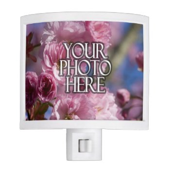 Photo Custom Picture Night Light by cutencomfy at Zazzle