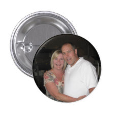Photo Custom Round Personalized Custom Buttons at Zazzle