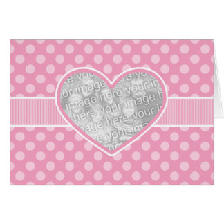Photo Cutout Heart Valentine s Day Template Card