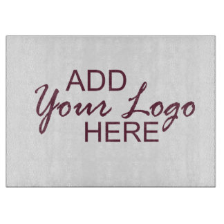 photo cutting board - customize with your own logo