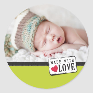 PHOTO DECORATIVE LABEL :: made with love 1