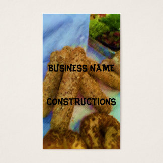 Photo drawing bread business card