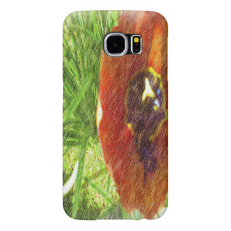 Photo drawing tulips samsung galaxy s6 cases