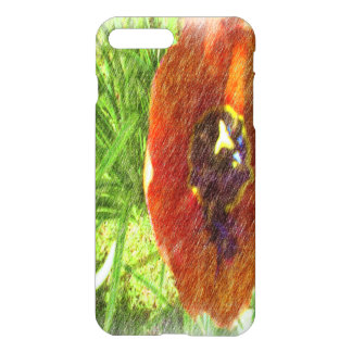 Photo drawing tulips iPhone 7 plus case