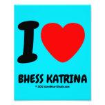 i [Love heart]  bhess katrina i [Love heart]  bhess katrina Photo Enlargements